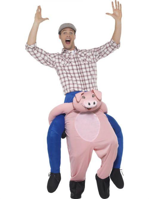 Piggyback Pig Unisex Novelty Fancy Dress Costume