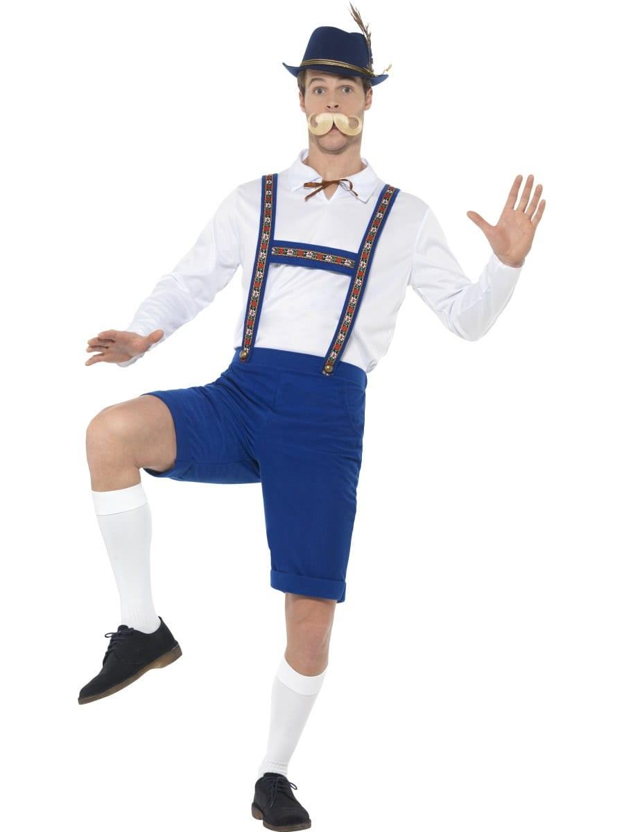Bavarian Men's Fancy Dress Costume