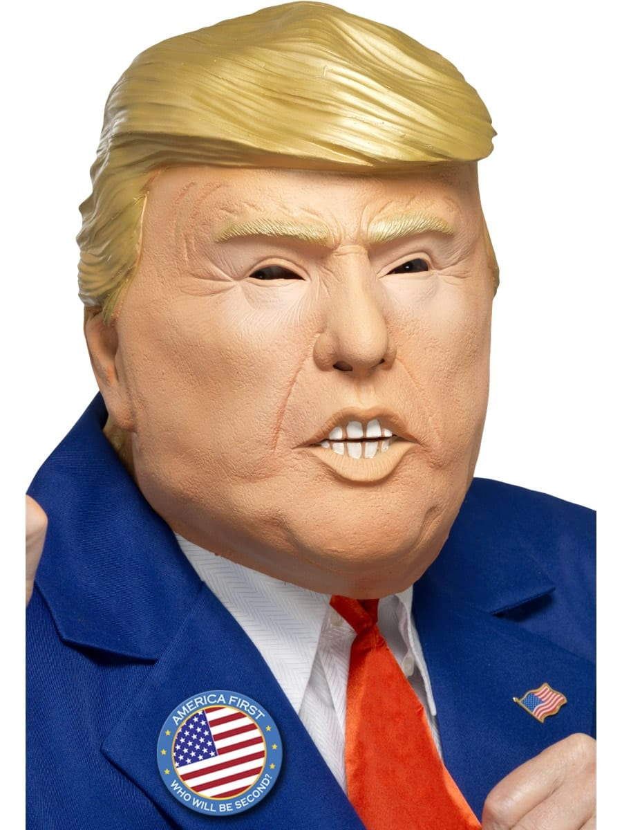President Full Overhead Latex Mask