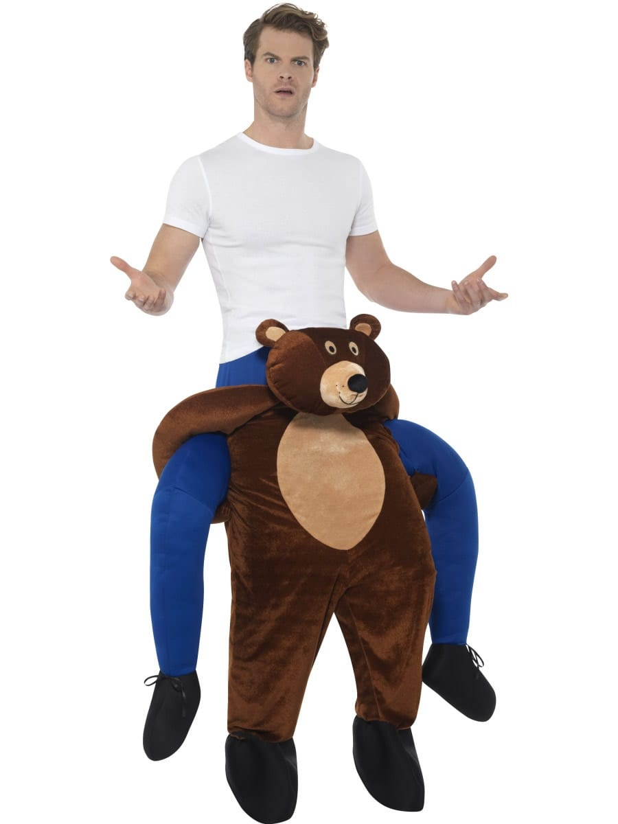 Piggyback Bear Unisex Novelty Fancy Dress Costume