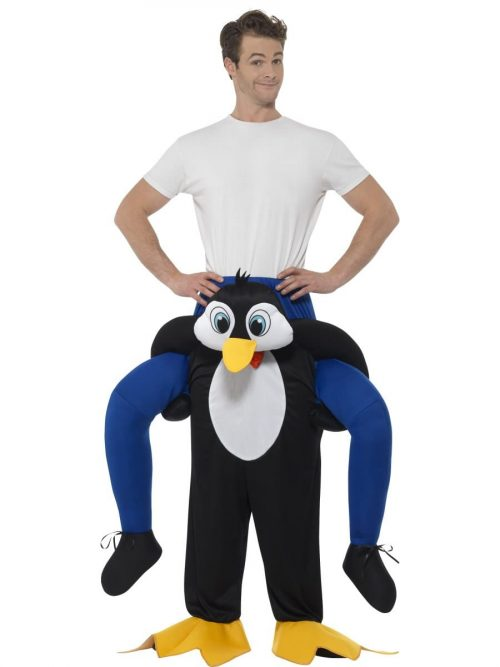 Piggyback Penguin Unisex Novelty Fancy Dress Costume