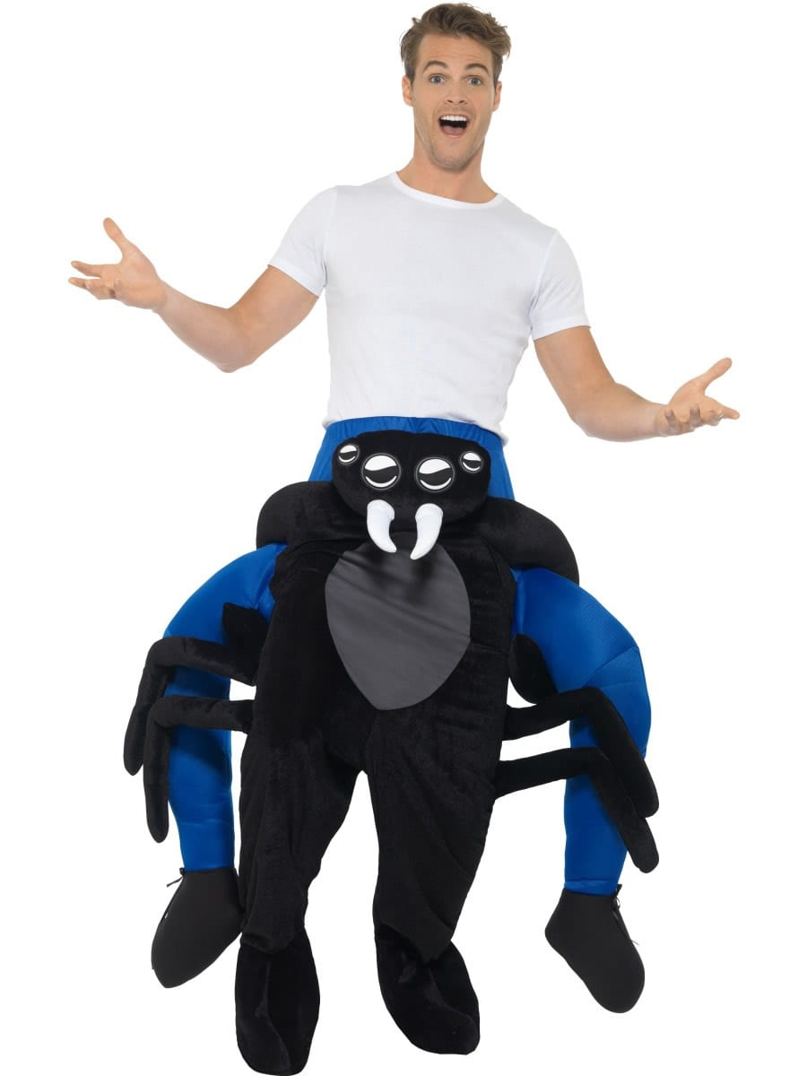 Piggyback Spider Unisex Novelty Fancy Dress Costume