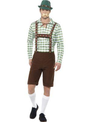 Alpine Bavarian Men's Fancy Dress Costume