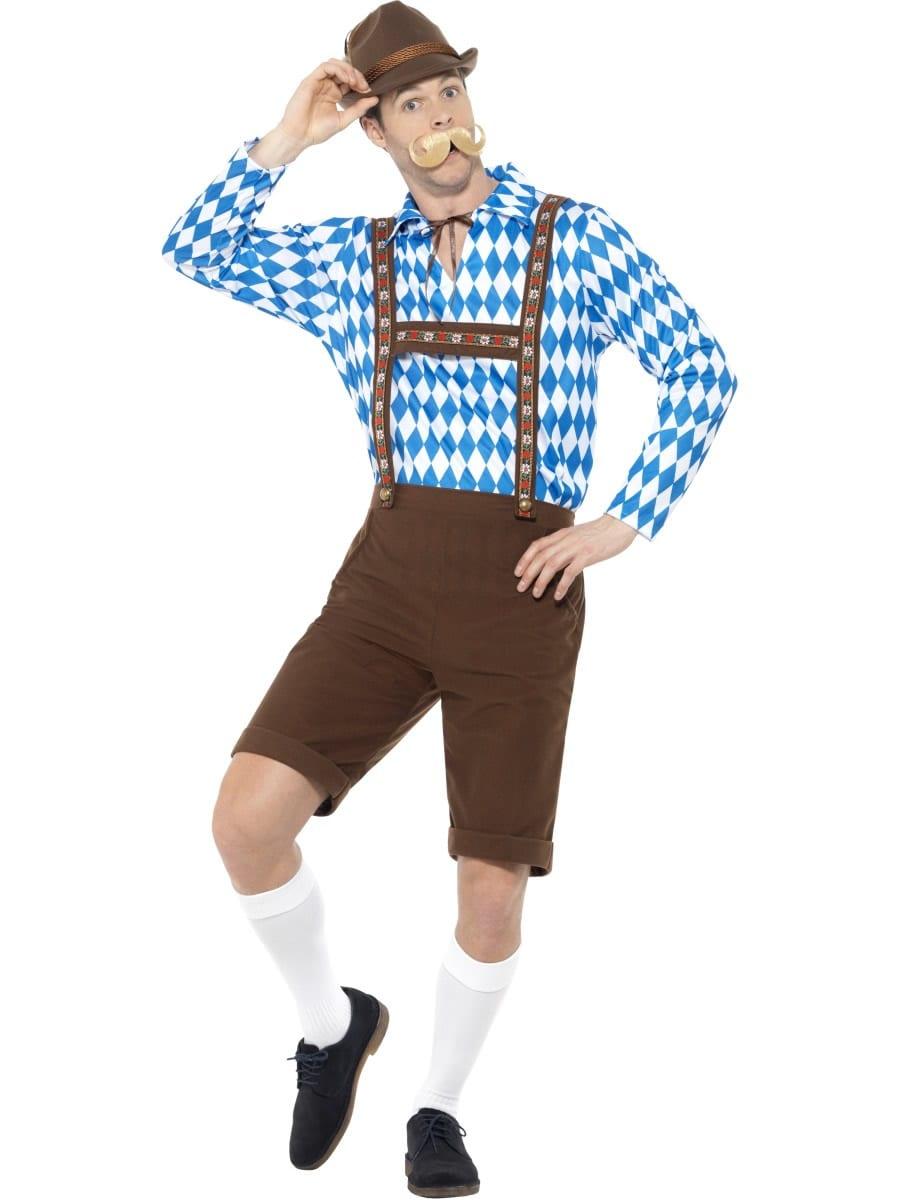 Bavarian Beer Man Men's Fancy Dress Costume