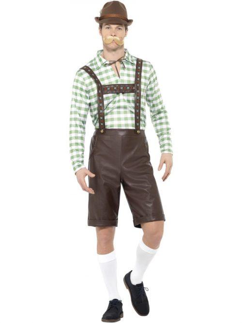Bavarian Man Men's Fancy Dress Costume