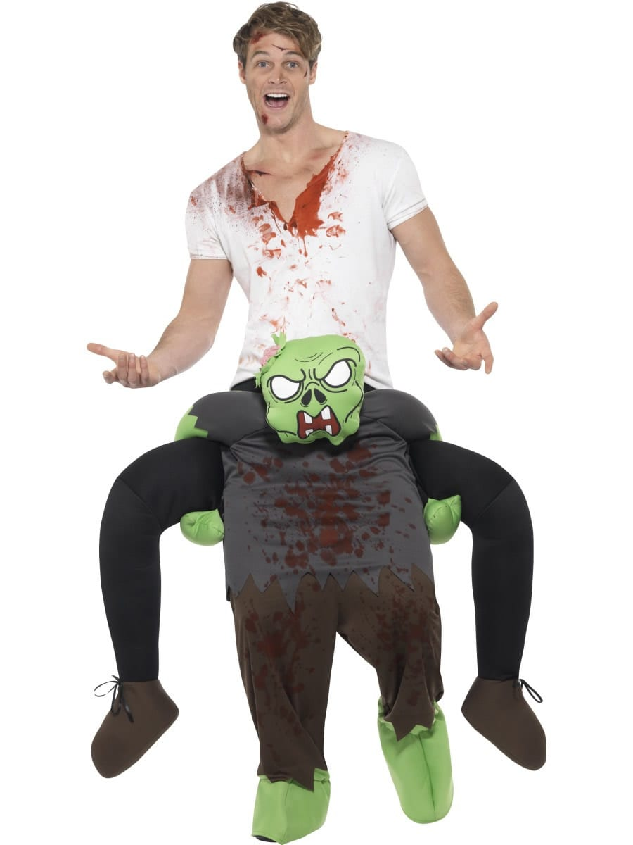 Piggyback Zombie Novelty Halloween Fancy Dress Costume