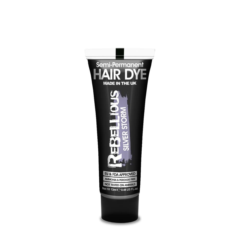 Semi-Permanent Hair Dye Silver Storm 13ml