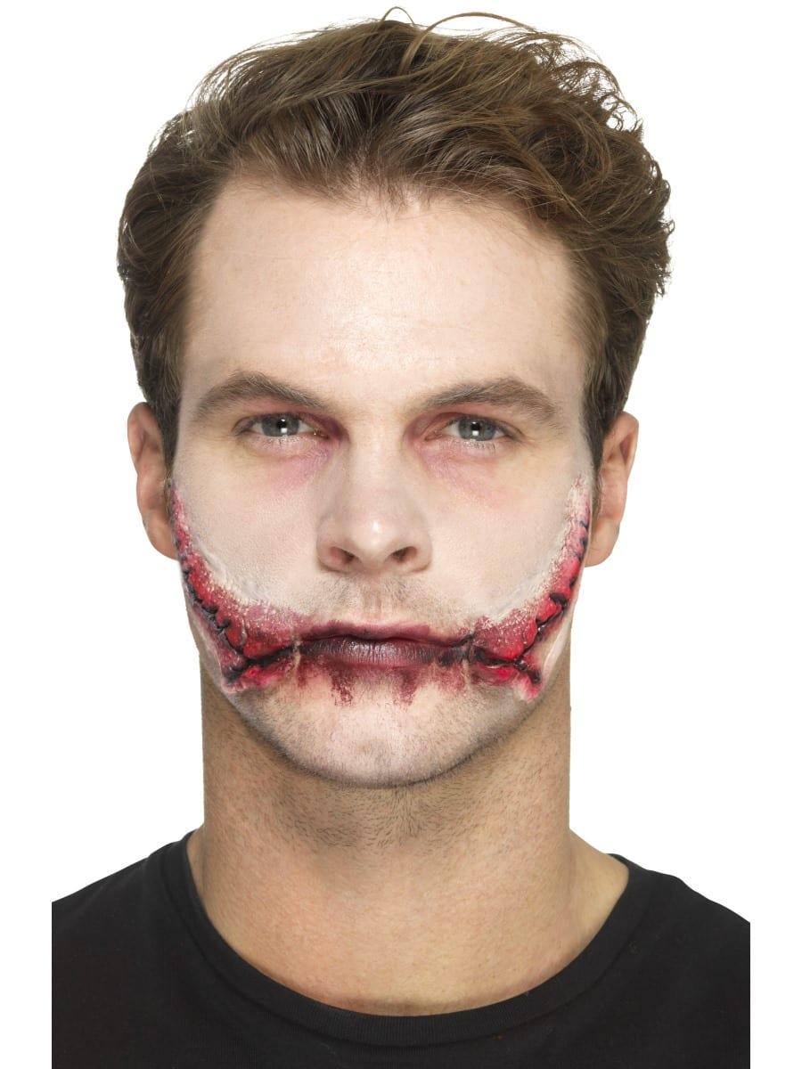 Latex Stitched Smile Prosthetic