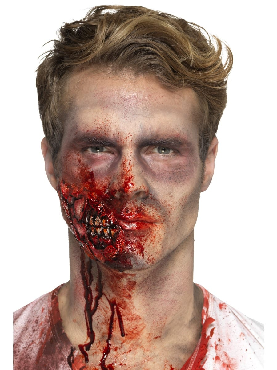 Latex Zombie Jaw Prosthetic