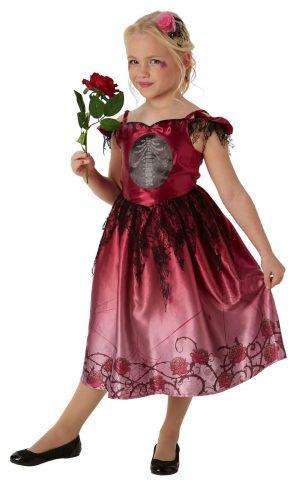 Rags & Roses Halloween Children's Fancy Dress Costume