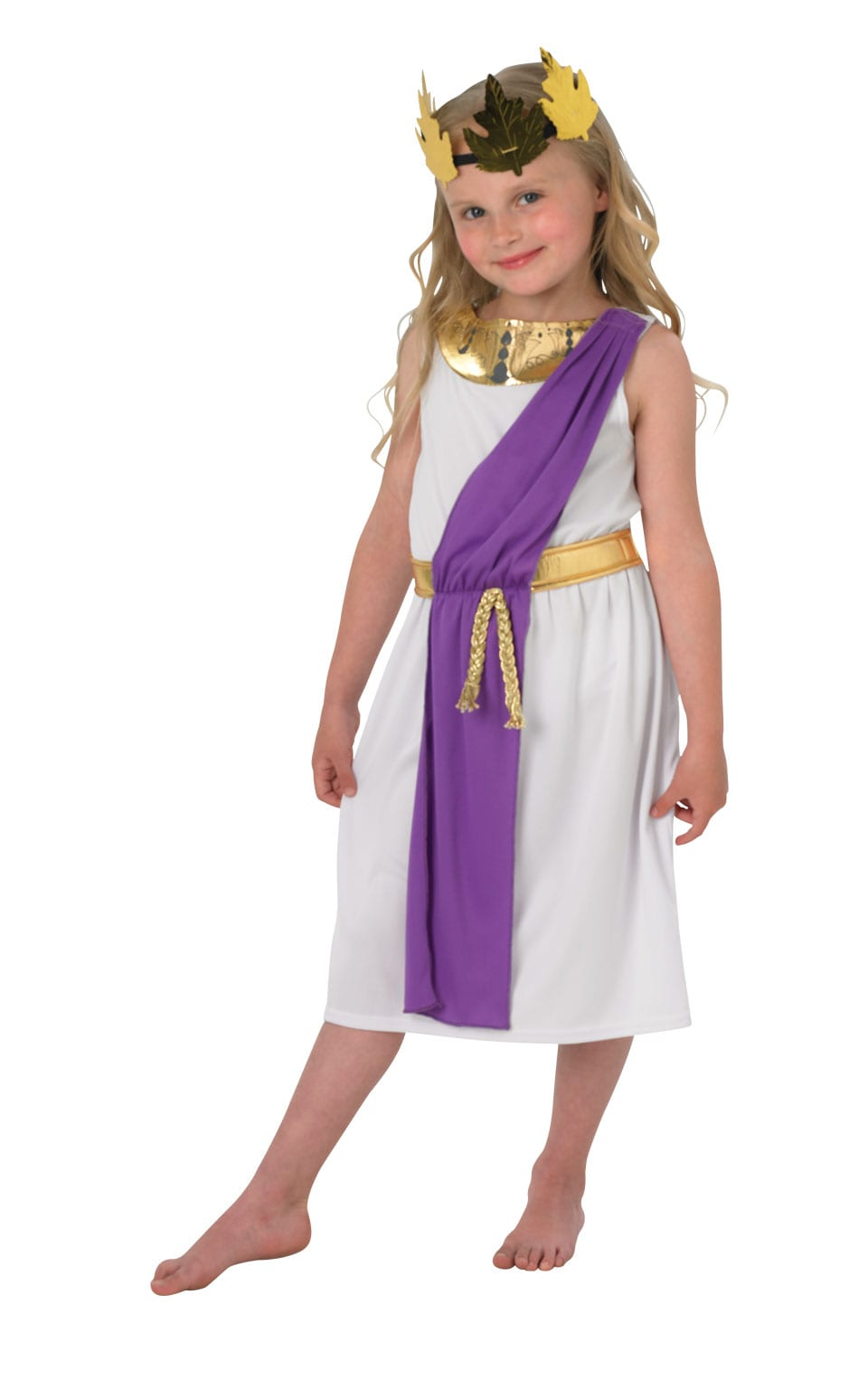 Roman Girl Children's Fancy Dress Costume