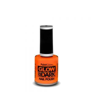 PaintGlow Glow in the Dark Nail Polish 13ml Intense Orange
