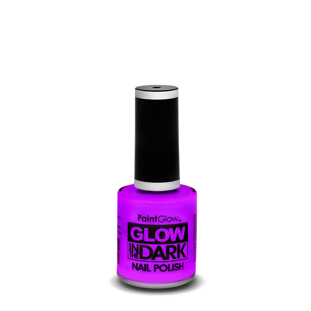 PaintGlow Glow in the Dark Nail Polish 13ml Intense Violet