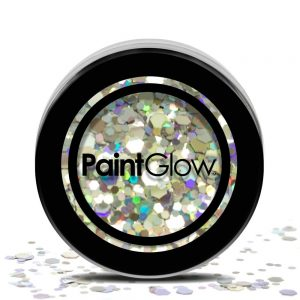 PaintGlow Chunky Cosmetic Glitter 3g Disco Fever