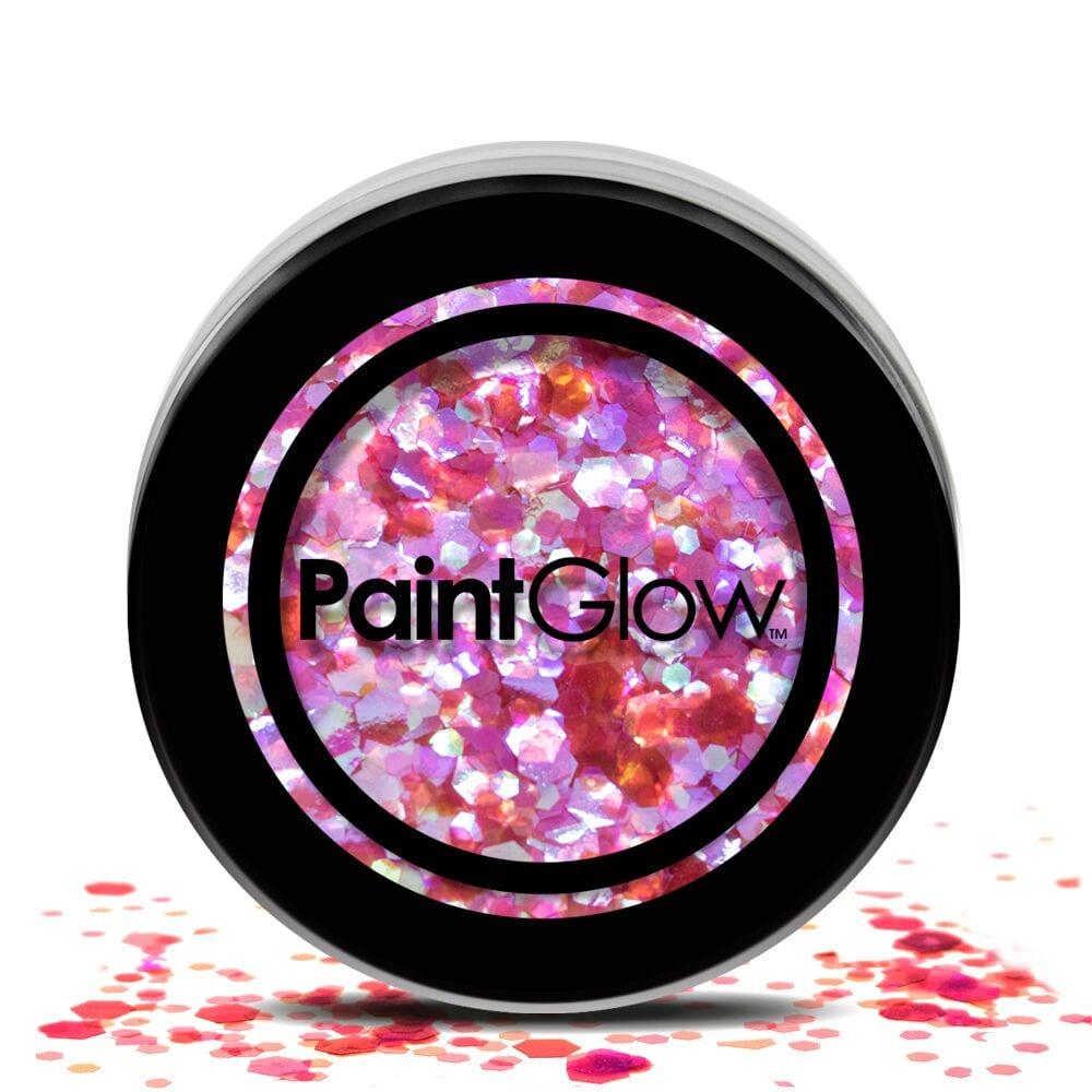 PaintGlow Chunky Cosmetic Glitter 3g Heart Breaker