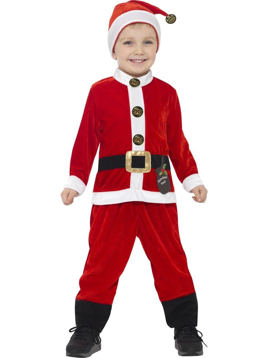 Santa Toddler Christmas Children's Fancy Dress Costume-0
