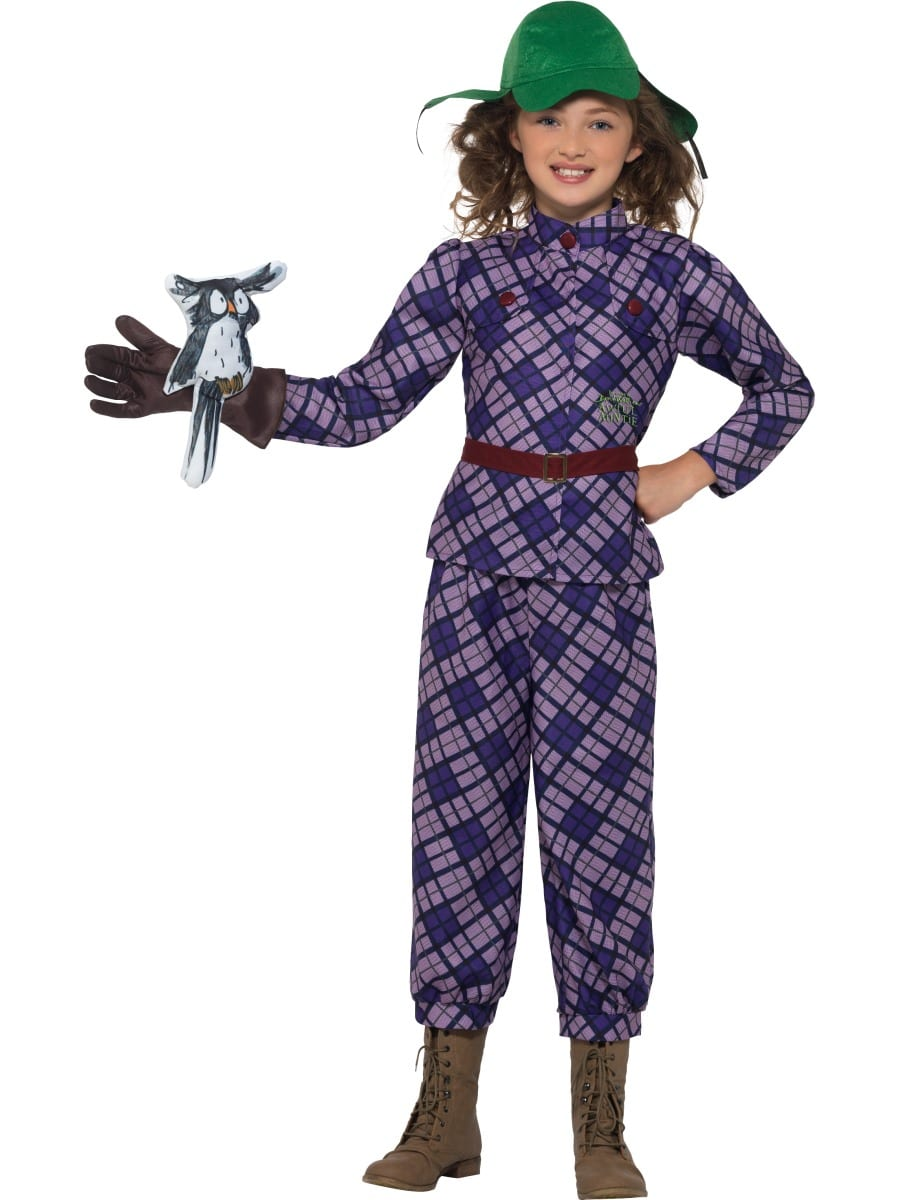 David Walliams Awful Auntie Children's Fancy Dress Costume