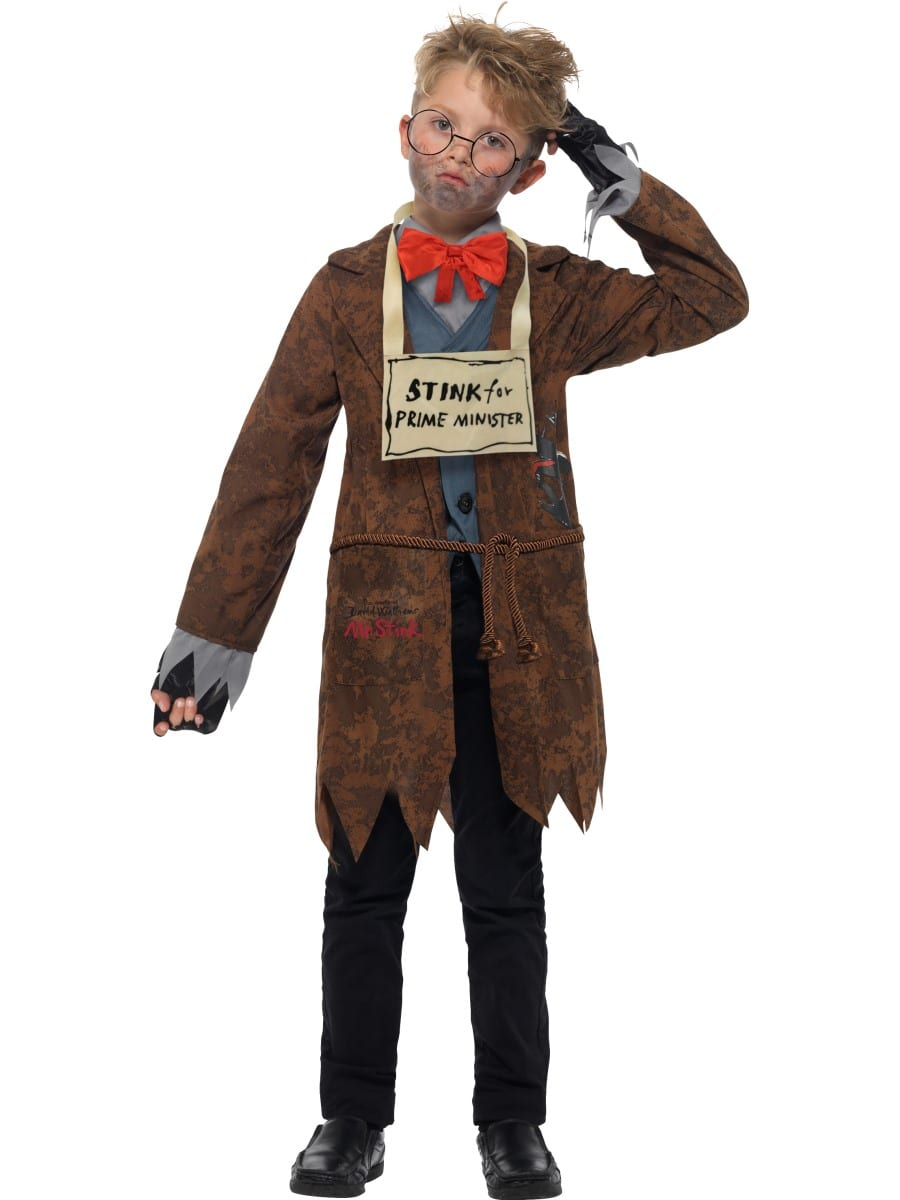 David Walliams Deluxe Mr Stink Children's Fancy Dress Costume