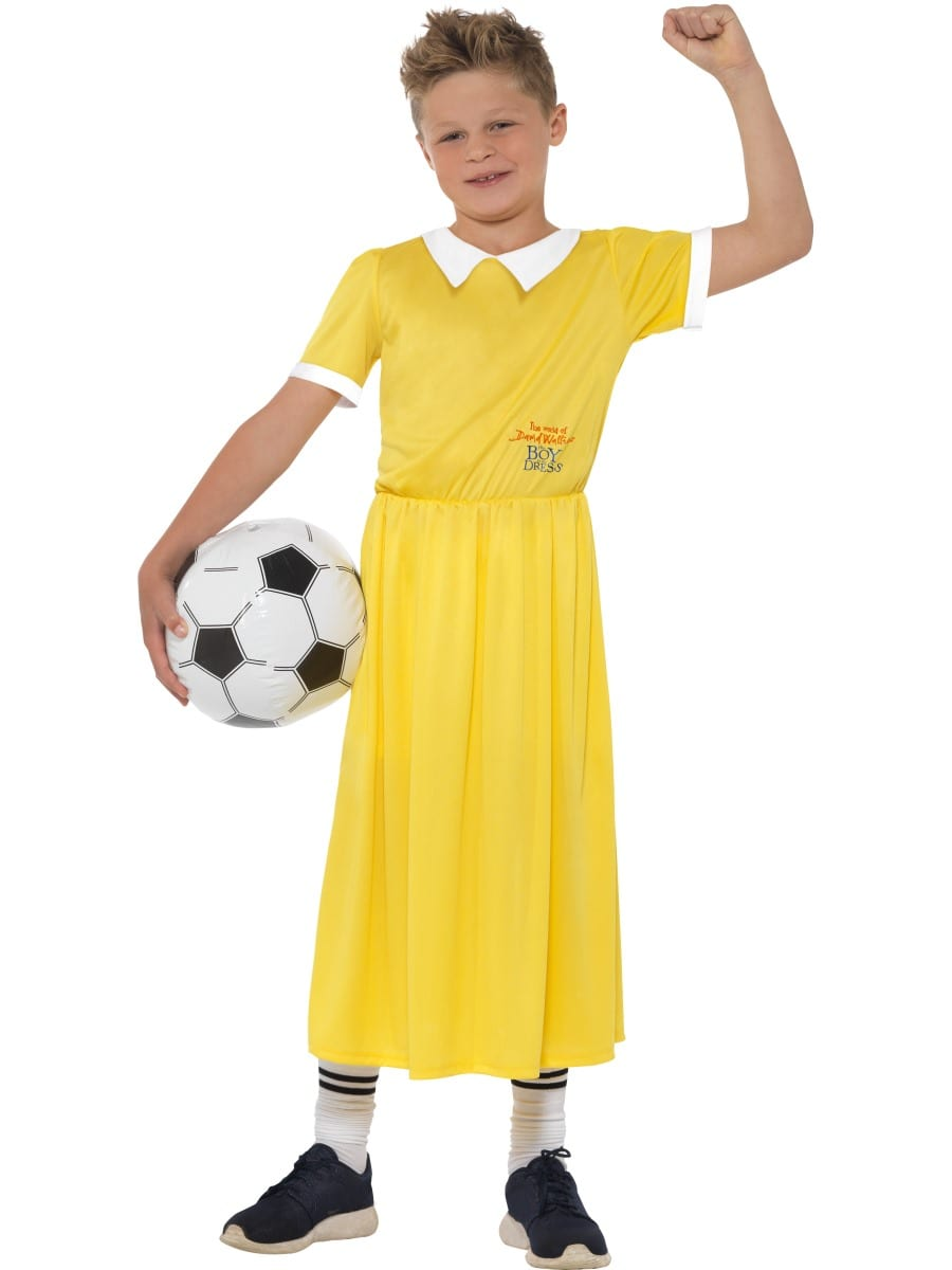David Walliams Deluxe 'The Boy in the Dress' Children's Fancy Dress Costume
