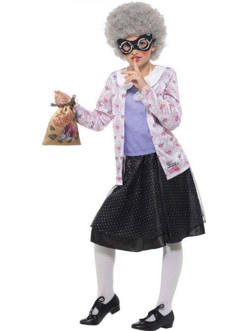 David Walliams Deluxe 'Gangsta Granny' Children's Fancy Dress Costume