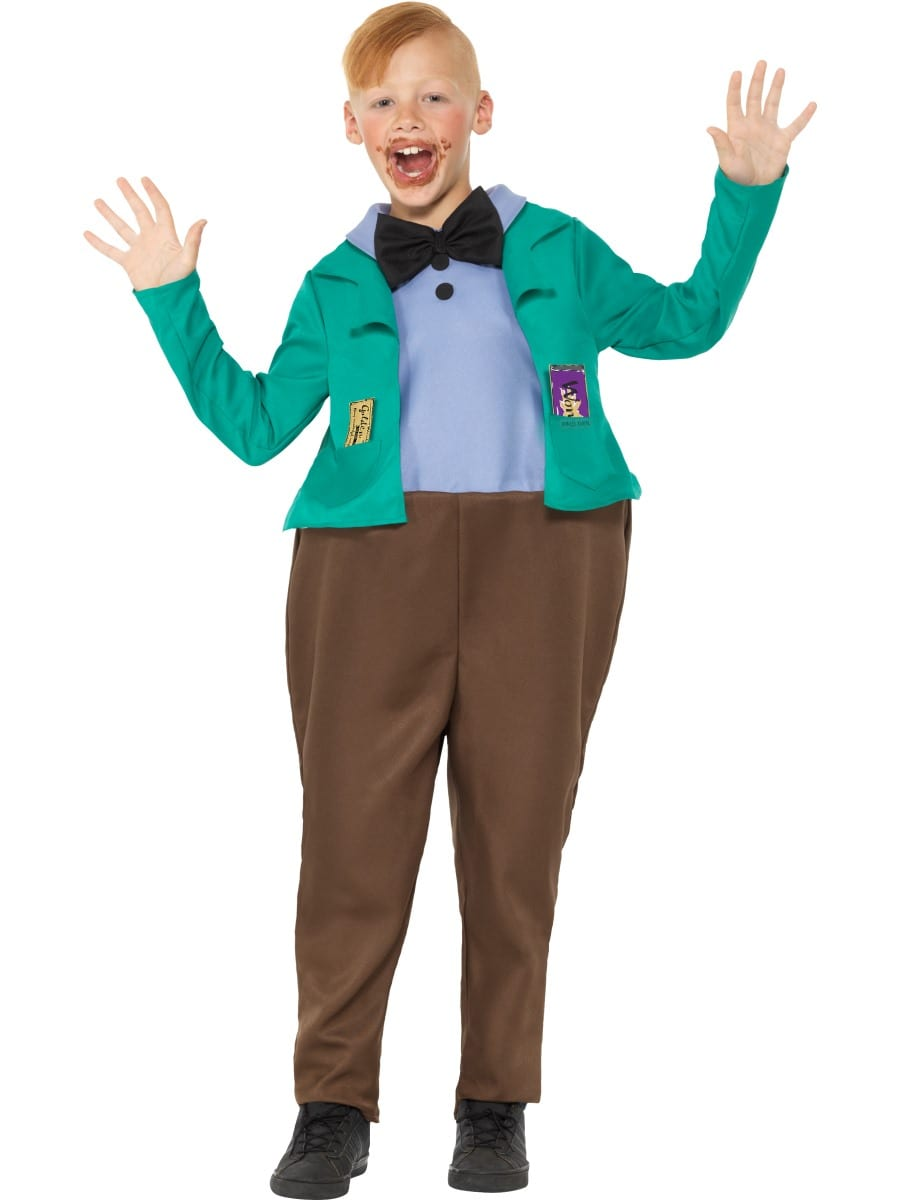 Roald Dahl Augustus Gloop Children's Fancy Dress Costume