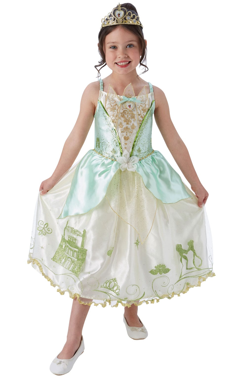 Disney's Storyteller Tiana Children's Fancy Dress Costume