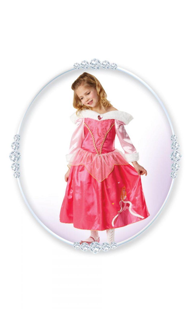 Disney's Winter Wonderland Sleeping Beauty Children's Fancy Dress Costume