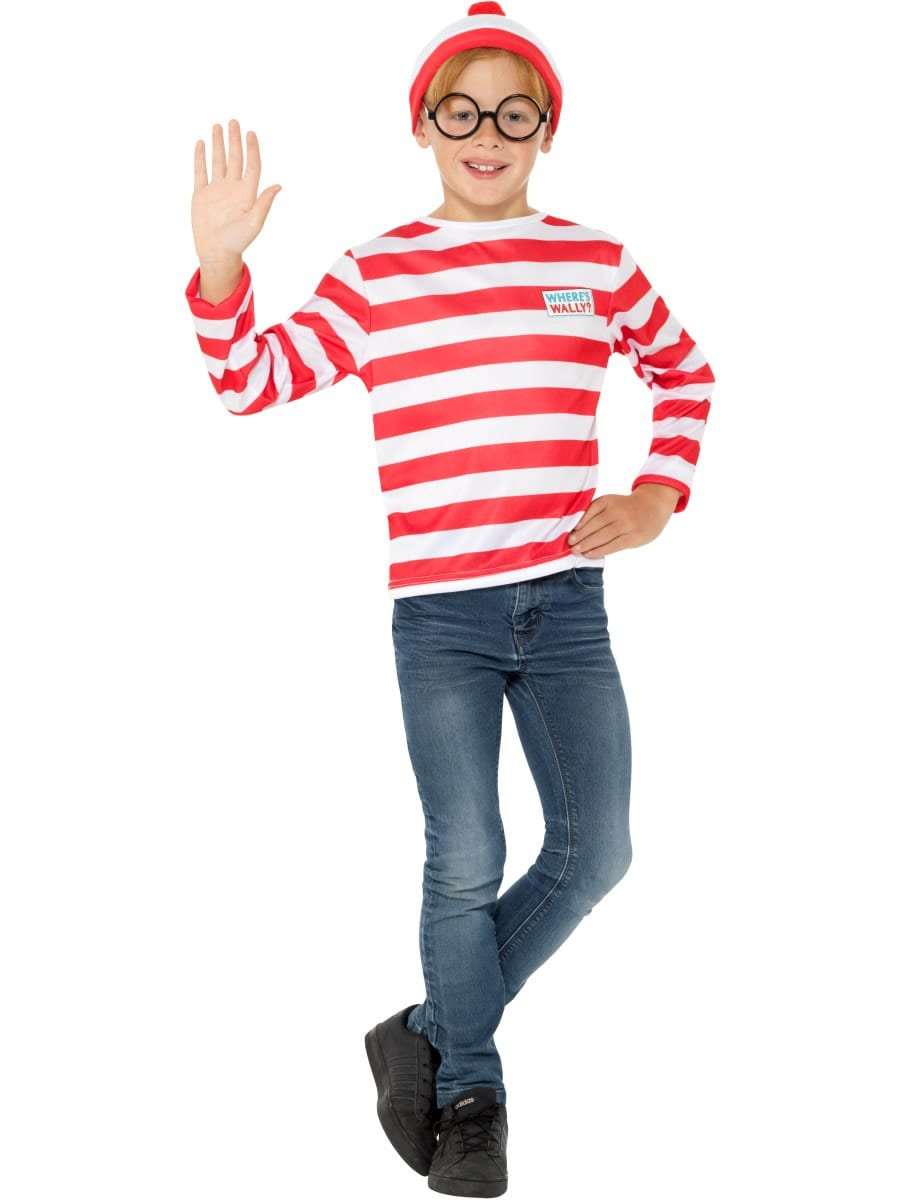 Where's Wally? Instant Kit Children's Fancy Dress Costume
