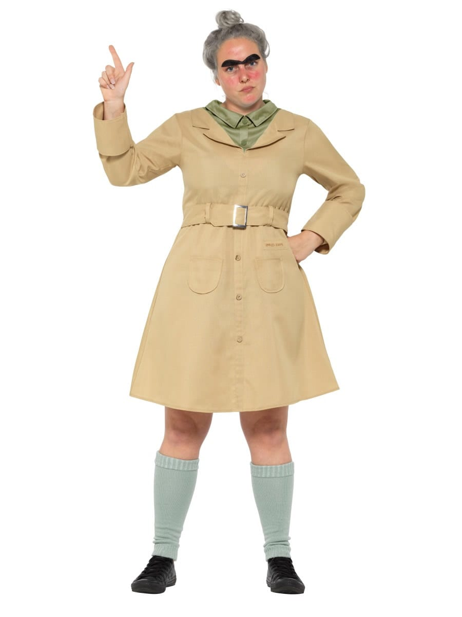 Roald Dahl Miss Trunchbull Ladies Fancy Dress Costume