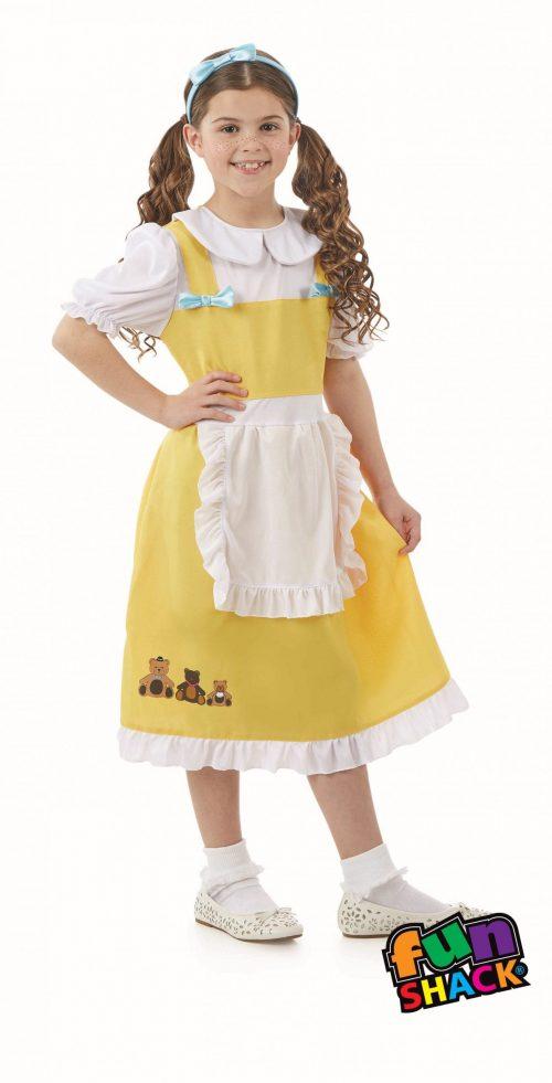 Goldilocks Children's Fancy Dress Costume