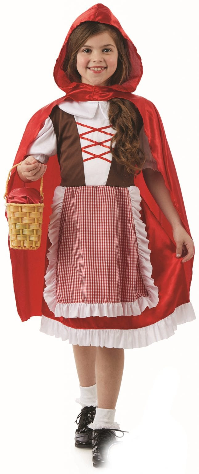 Red Riding Hood Children's Fancy Dress Costume
