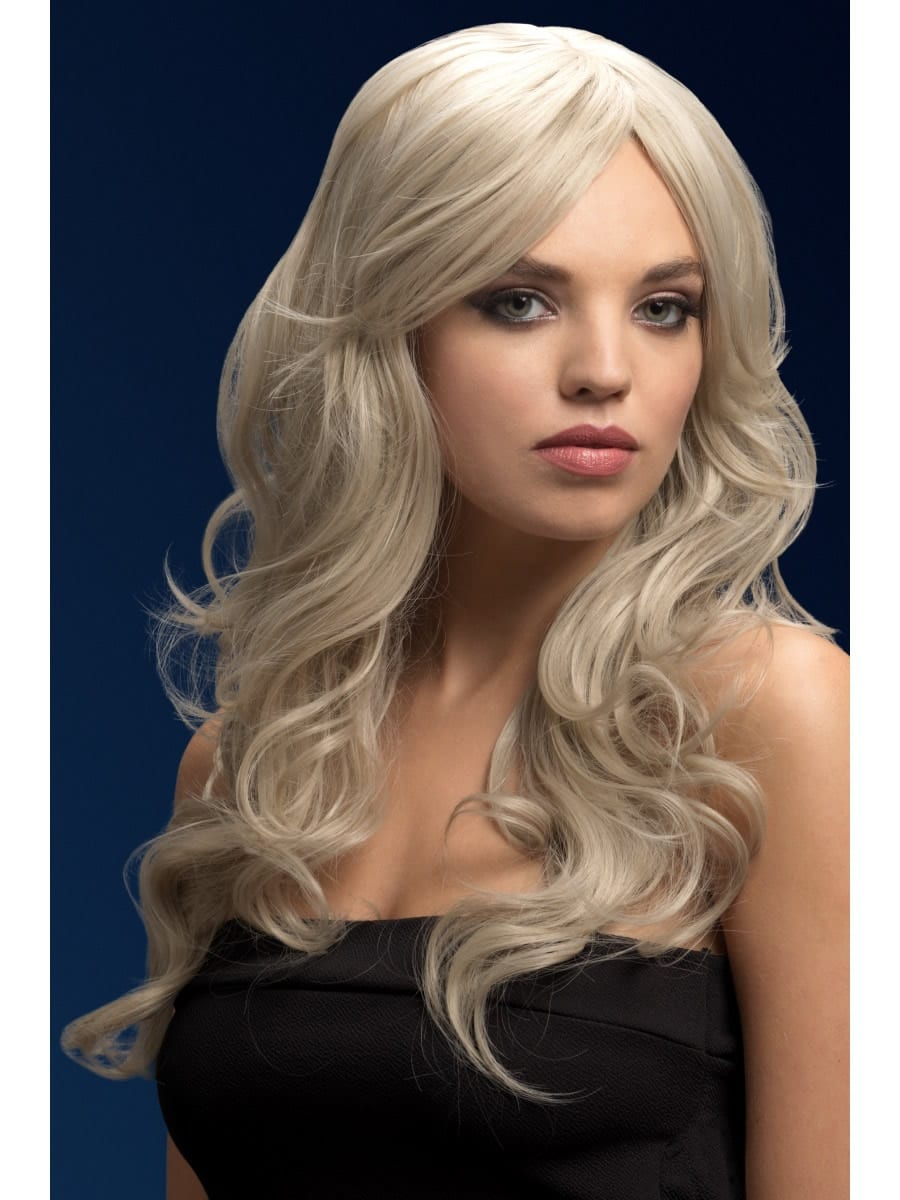 Fever Collection Nicole Wig Silver Blonde