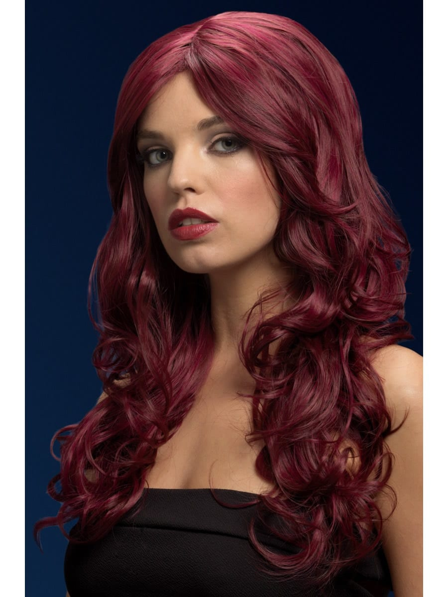 Fever Collection Nicole Wig Red Cherry