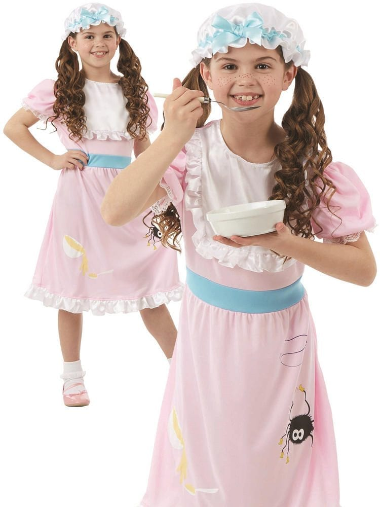 Miss Muffet Girl Children's Fancy Dress Costume