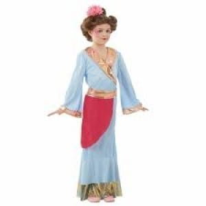 Japanese Princess Children's Fancy Dress Costume