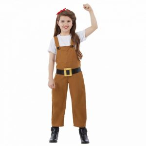 Land Girl Children's Fancy Dress Costume