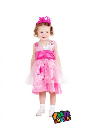 Princess Butterfly Toddler Children's Fancy Dress Costume