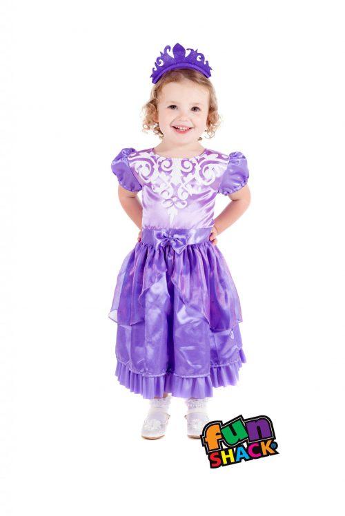 Princess Amethyst Toddler Children's Fancy Dress Costume