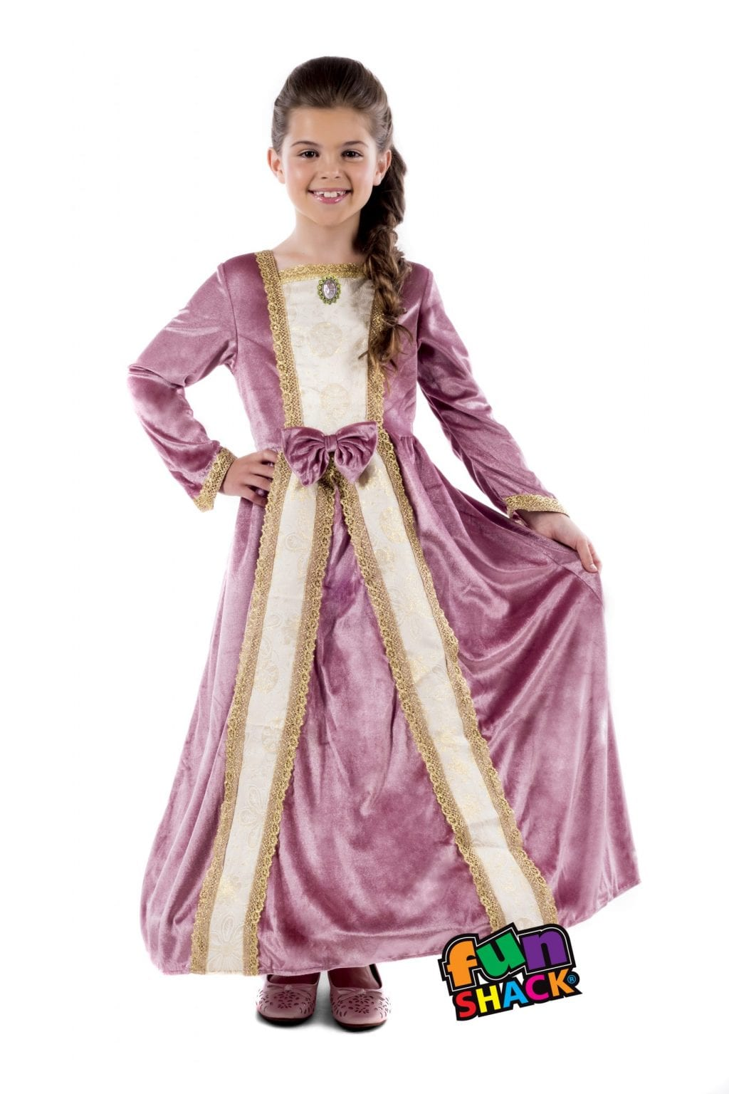 Royal Ball Gown Elizabeth Children's Fancy Dress Costume