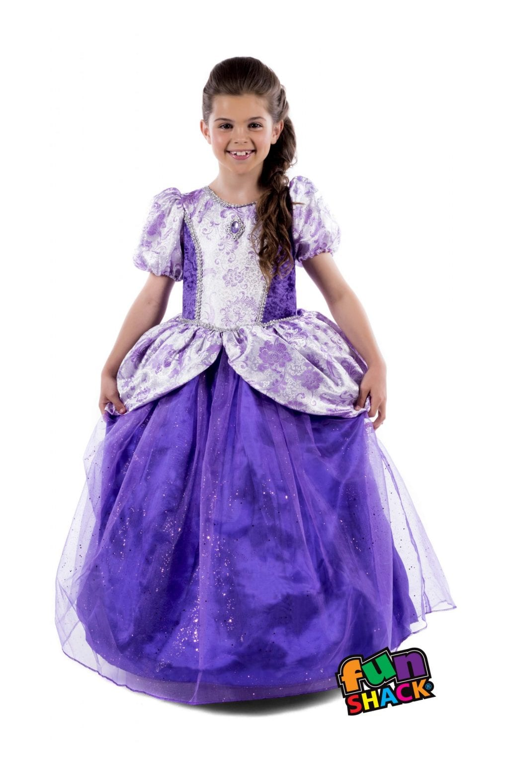 Royal Ball Gown Charlotte Children's Fancy Dress Costume