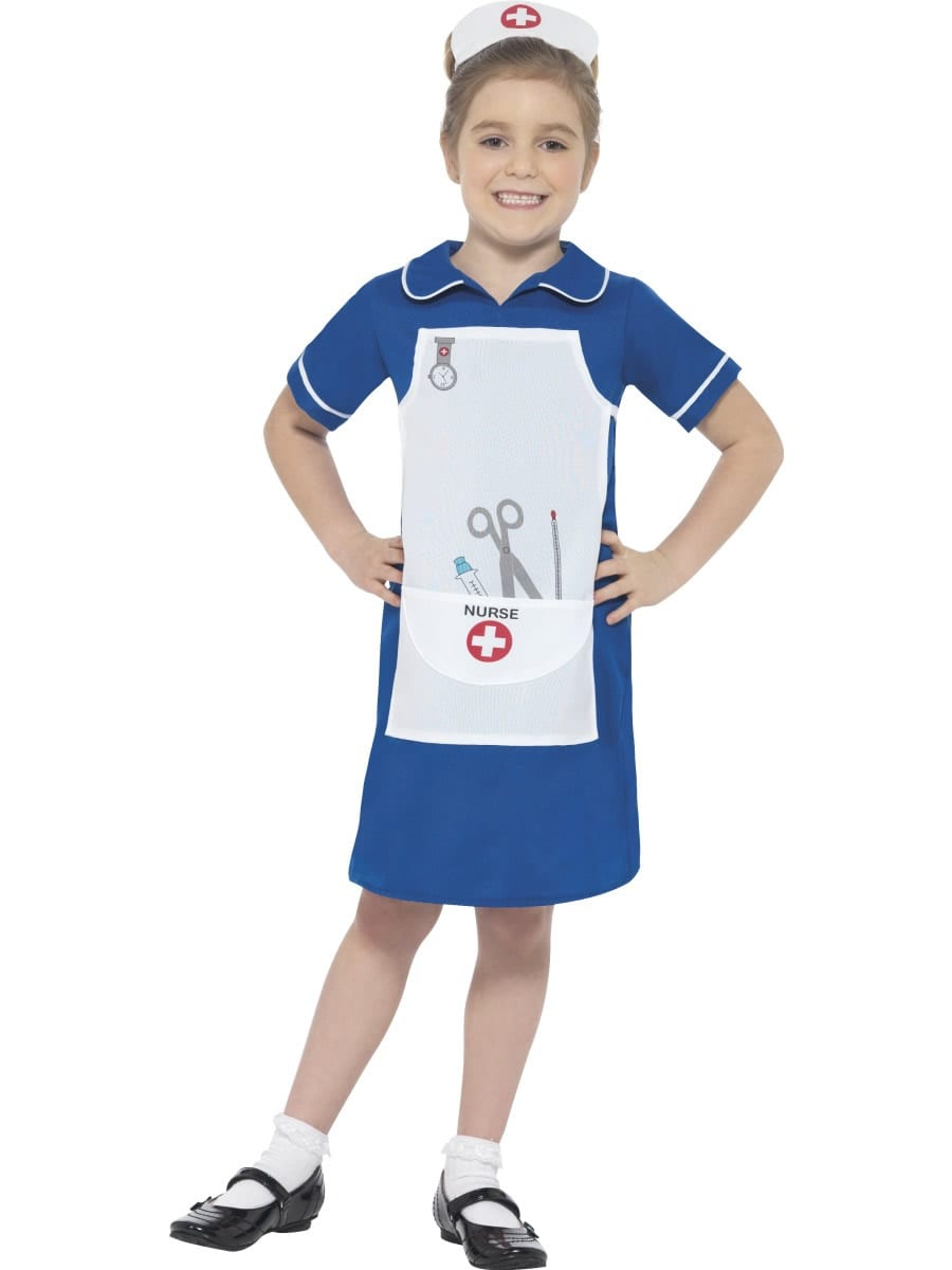 Nurse Children's Fancy Dress Costume