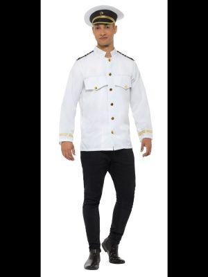 Captain Jacket Men's Fancy Dress Costume