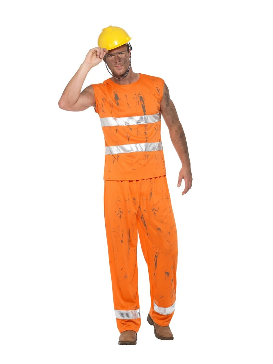 Miner Men's Fancy Dress Costume