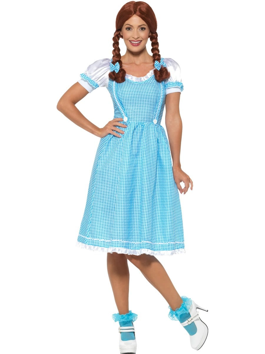 Kansas Country Girl Ladies Fancy Dress Costume