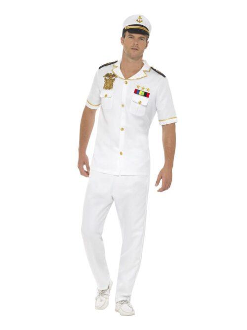 Captain Men's Fancy Dress Costume