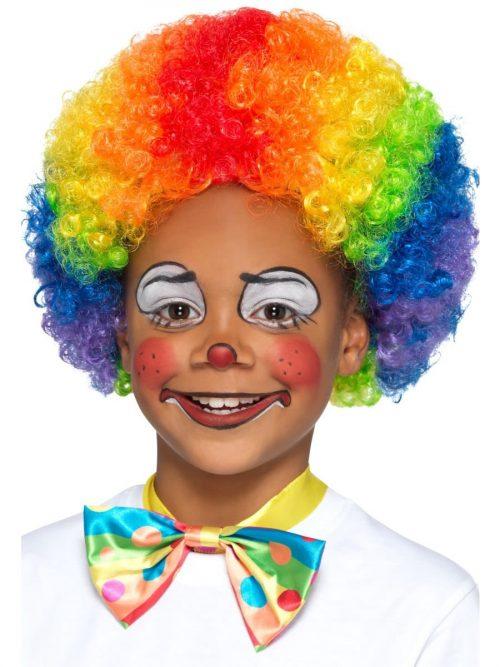 Rainbow Clown Childrens Wig