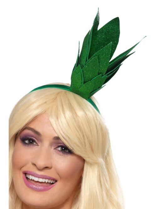 Pineapple Stalk Glitter Headband