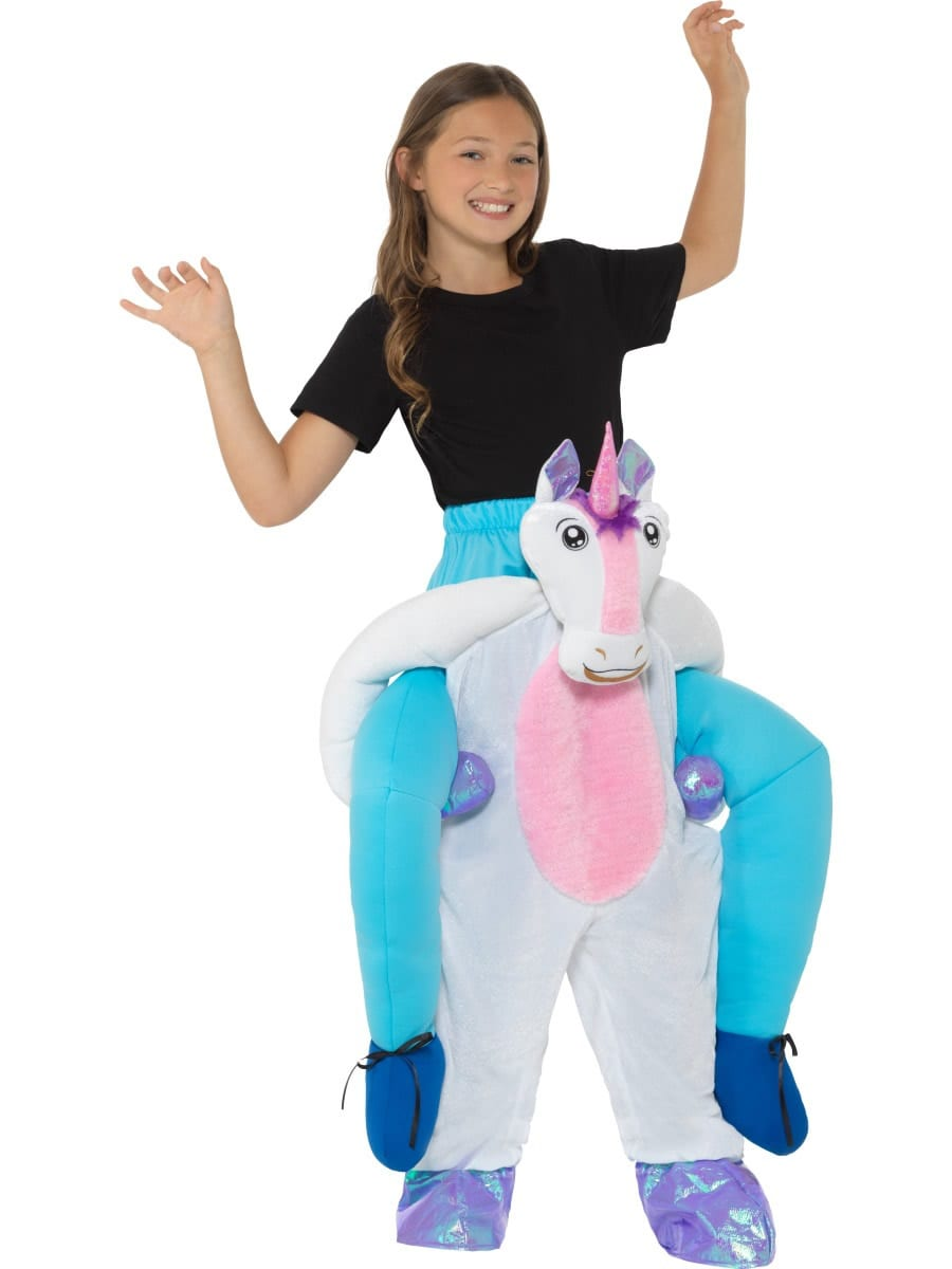 Piggyback Unicorn Children's Fancy Dress Costume