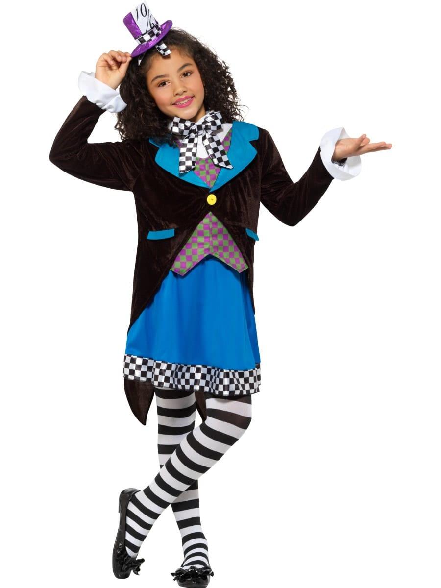 Little Miss Hatter Children's Fancy Dress Costume