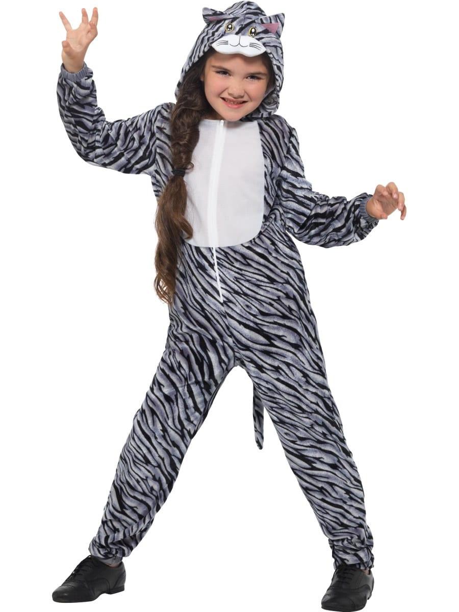 Tabby Cat Children's Unisex Fancy Dress Costume